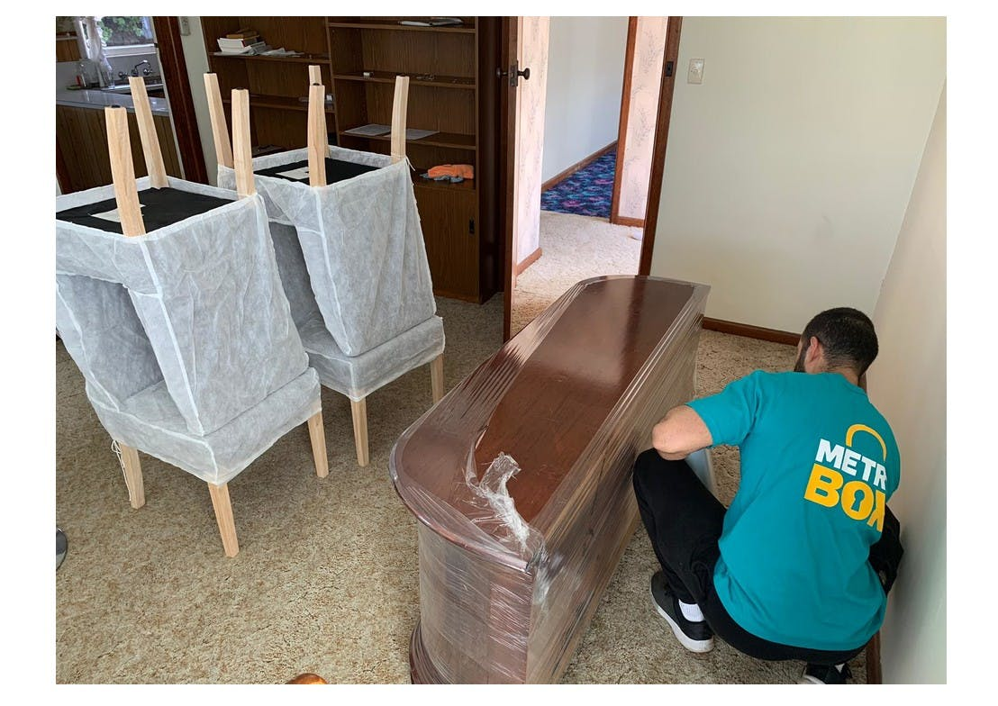Wrapping furniture