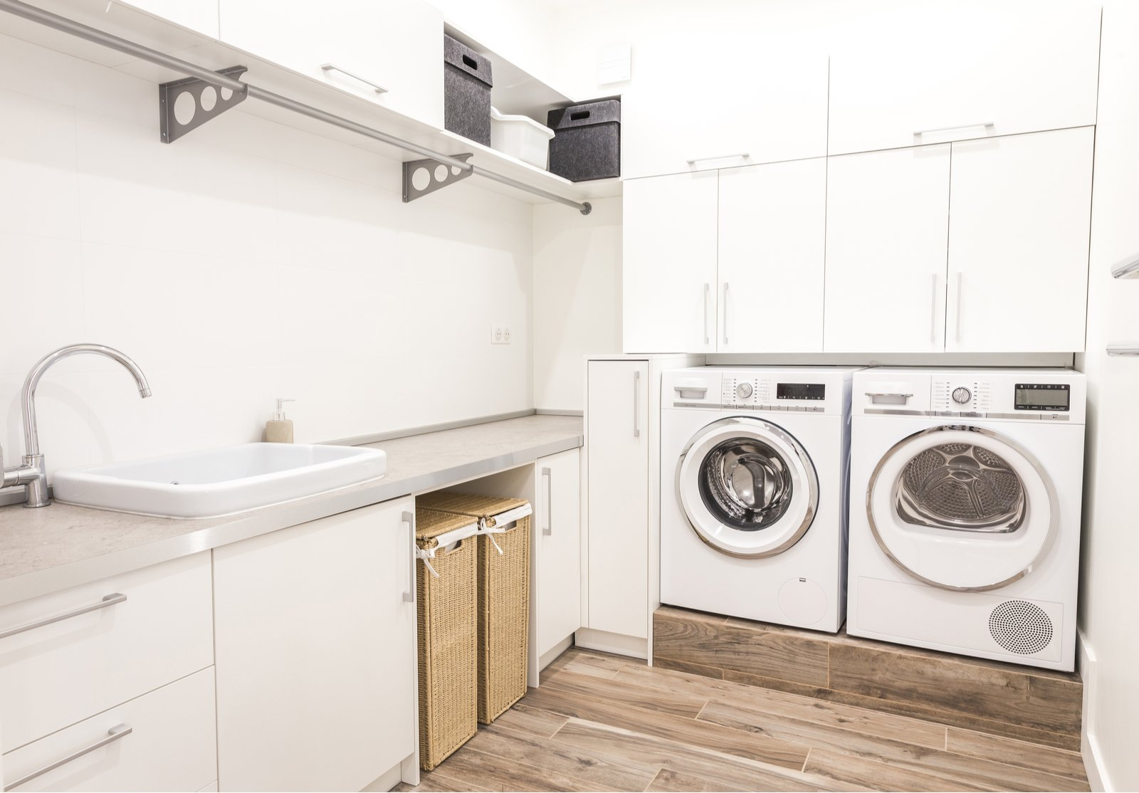 Storage Ideas For Small Laundry