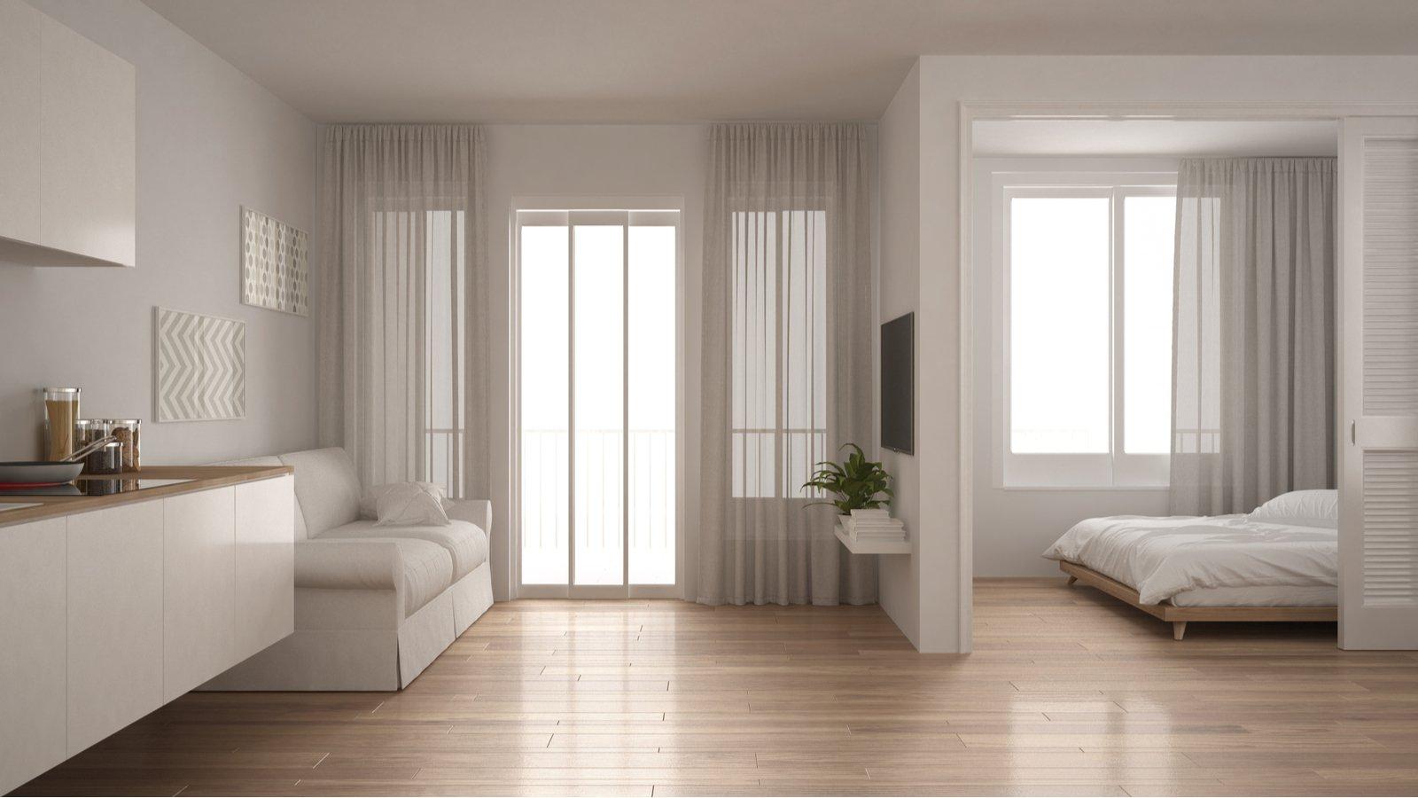 1 Bedroom Apartment Storage Size
